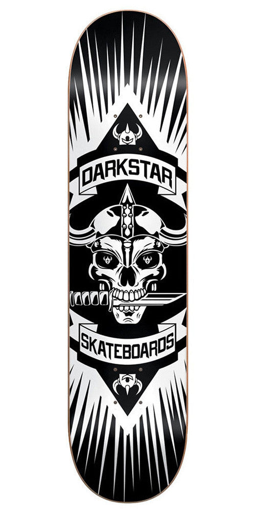 DarkStar Devolve SL - Black/White - 8.25in - Skateboard Deck