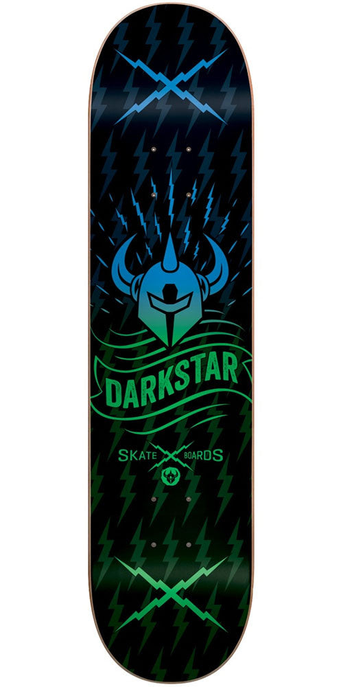 DarkStar Axis RHM - Green Fade - 8.125in - Skateboard Deck