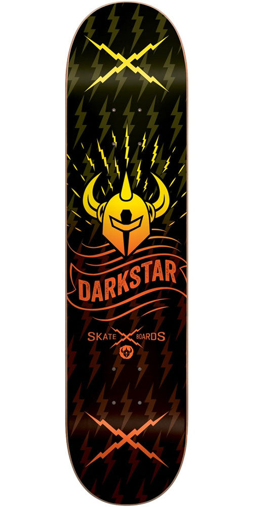 DarkStar Axis RHM - Orange Fade - 8.375in - Skateboard Deck
