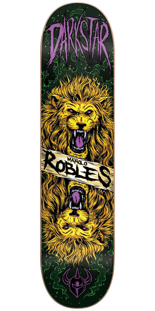 DarkStar Manolo Robles Zodiak R7 - Multi - 8.25in - Skateboard Deck