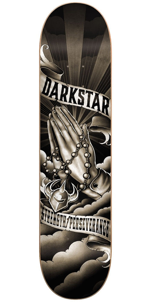 DarkStar Salvation HYB - Black/White - 8.125in - Skateboard Deck