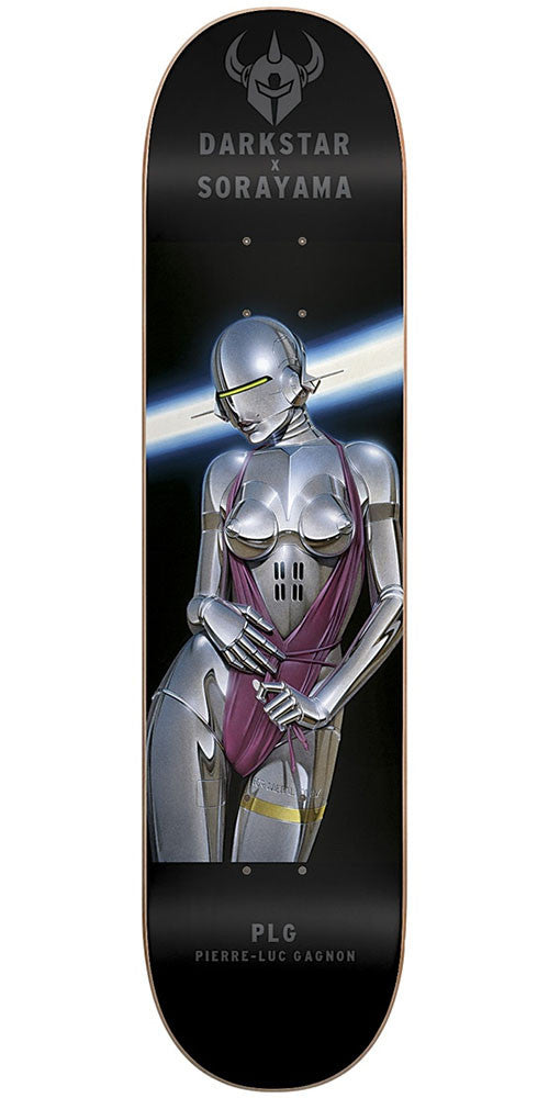 DarkStar Pierre Luc Gagnon Sorayama R7 - Black - 7.75in - Skateboard Deck