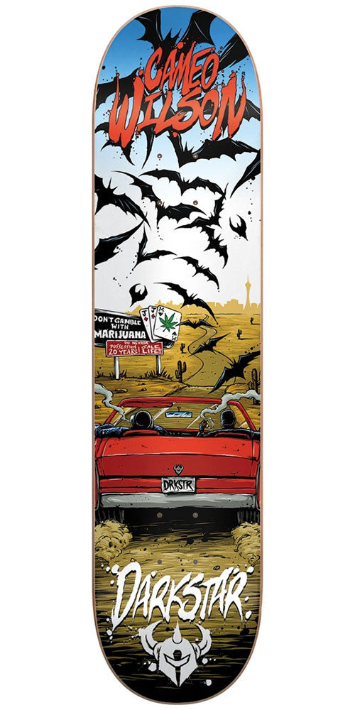 DarkStar Cameo Wilson Loathing R7 - Multi - 8.0in - Skateboard Deck