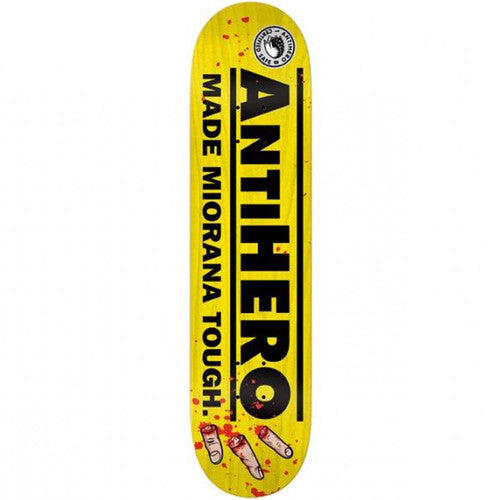 Anti-Hero Miorana Disability - Yellow - 8.25 - Skateboard Deck