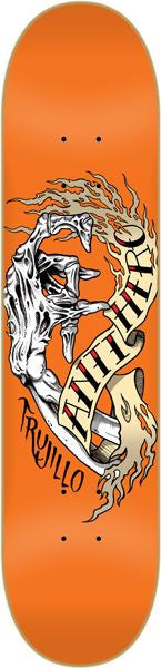 Anti-Hero Trujillo Fingered - Orange - 8.18 - Skateboard Deck