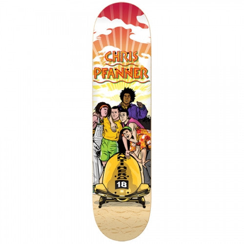 Anti-Hero Pfanner Warm Pfannings - Red/Tan/Multi - 8.5 - Skateboard Deck