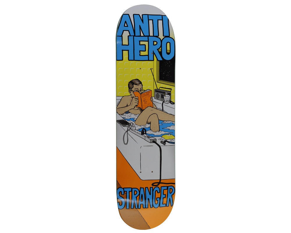 Anti-Hero Stranger Famous Last Words -  8.4 - Skateboard Deck