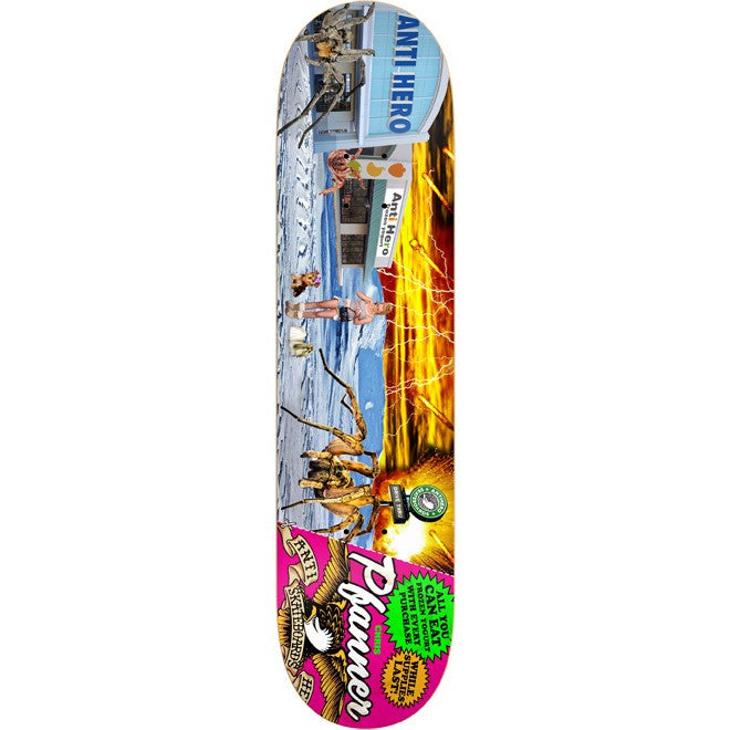 Anti-Hero Pfanner Ahpocalypse - Pink/Multi - 8.25 - Skateboard Deck