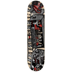 Anti-Hero Cardiel Train Key - Grey/Red - 8.12 - Skateboard Deck