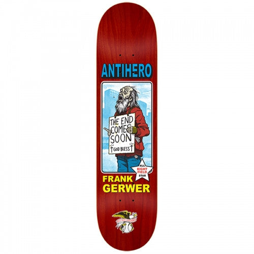 Anti-Hero Gerwer All Star Vagrant - 8.12 - Skateboard Deck