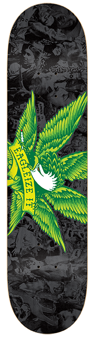 Anti-Hero Eagalize It Special Blend XL - Black/Green - 8.38 - Skateboard Deck