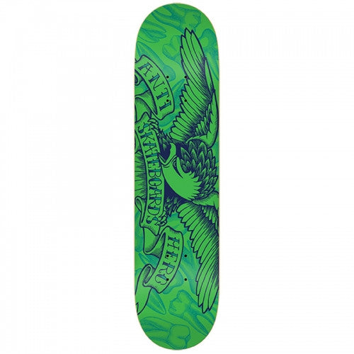 Anti-Hero Pulling Teeth PP Large - Green - 8.06 - Skateboard Deck