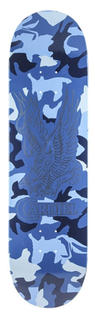 Anti-Hero Cardiel Camo Wright - Blue - 8.38 x 32.56 - Skateboard Deck