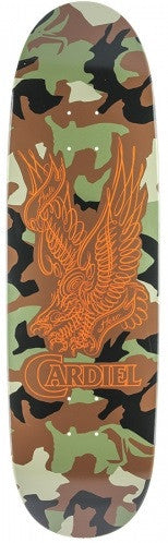Anti-Hero Cardiel Camo Wright - Military - 9.2 x 31.7 - Skateboard Deck