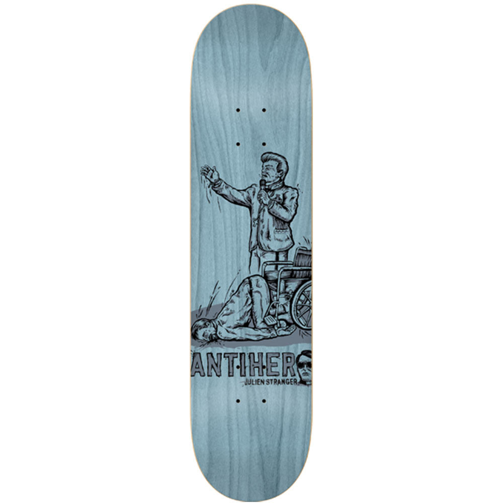 Anti-Hero Stranger Leap of Faith - Blue - 8.12 x 31.25 - Skateboard Deck