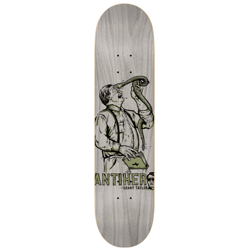 Anti-Hero Taylor Leap of Faith - Grey - 8.5 x 32.18 - Skateboard Deck