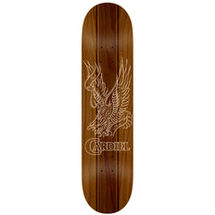 Anti-Hero Cardiel Stain Eagle Reg - Brown - 8.4 x 32.0 - Skateboard Deck