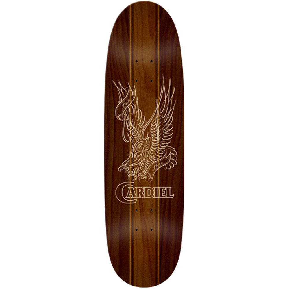 Anti-Hero Cardiel Stain Eagle Huffer - Brown - 9.2 x 31.7 - Skateboard Deck