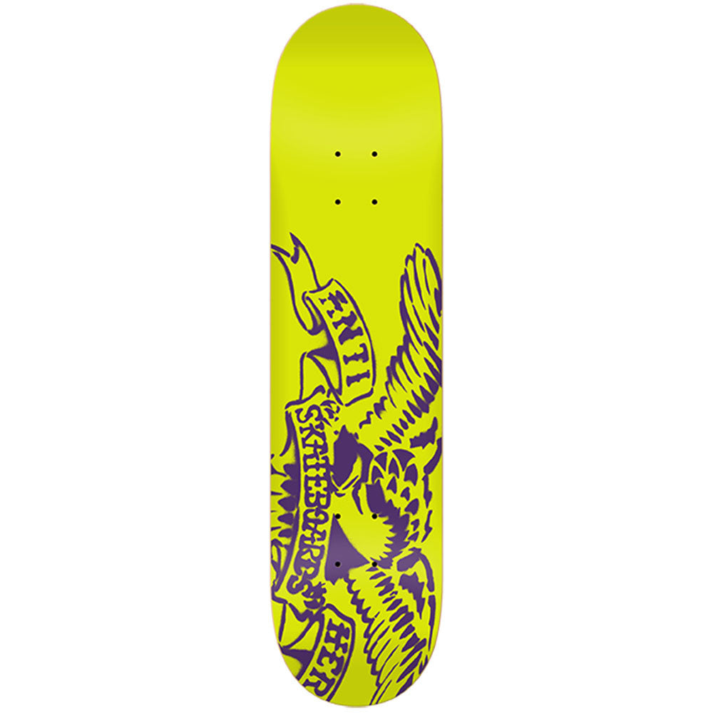Anti-Hero Spray Eagle SM - Yellow - 7.75 x 31.25 - Skateboard Deck
