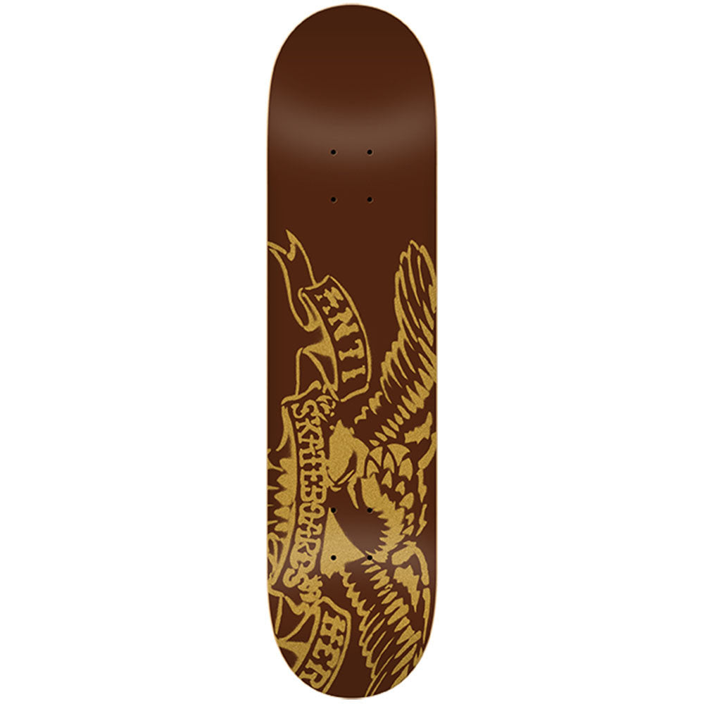 Anti-Hero Spray Eagle MD - Brown - 8.06 x 32.0 - Skateboard Deck