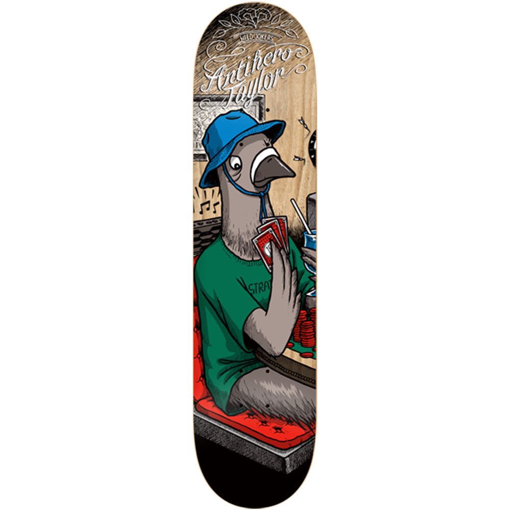 Anti-Hero Taylor Wild Jokers - Multi - 8.43in x 32.57in - Skateboard Deck