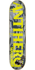 Anti-Hero Cownhorn - Grey Camo - 8.38in x 32.25in - Skateboard Deck