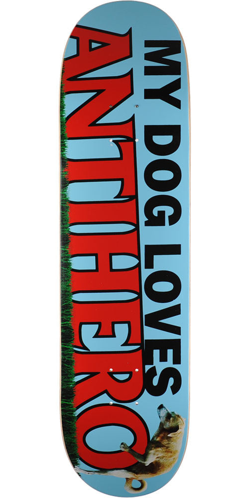 Anti-Hero Doggy MD - Blue - 8.25in x 32.0in - Skateboard Deck