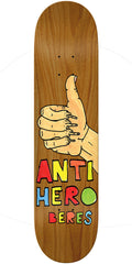 Anti-Hero Raney Beres Porous II - Assorted - 8.5in x 31.85in - Skateboard Deck