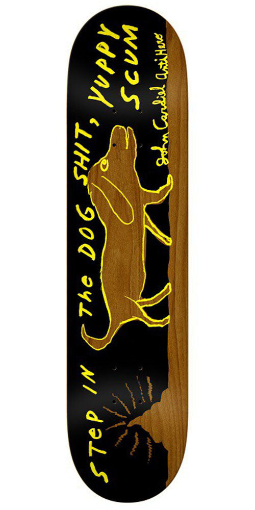 Anti-Hero Cardiel Yuppy Dogshit Round 2 - Black - 8.38in x 32.43in - Skateboard Deck
