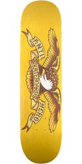 Anti-Hero Stained Eagle Medium - Yellow - 8.06in x 31.8in - Skateboard Deck