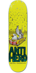 Anti-Hero BA First - Assorted - 8.25in x 32in - Skateboard Deck