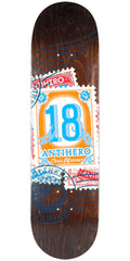 Anti-Hero Chris Pfanner Postal - Assorted - 8.4in x 32in - Skateboard Deck