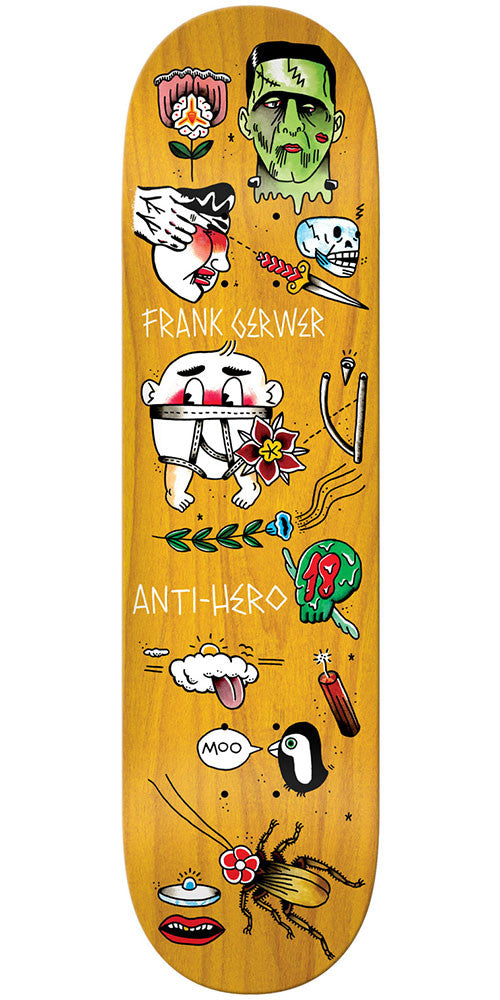 Anti-Hero Gerwer A Grape Dope - Assorted - 8.4in x 32in - Skateboard Deck