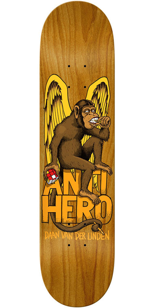 Anti-Hero Daan The Thinker - Assorted - 8.28in x 31.1in - Skateboard Deck