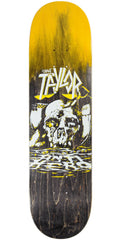Anti-Hero Taylor Southbound - Yellow/Black - 8.25in x 32.0in - Skateboard Deck