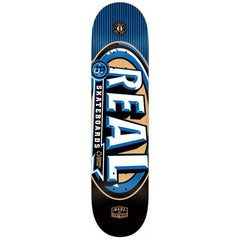 Real PP MVP Small - Blue/Black - 7.56 - Skateboard Deck