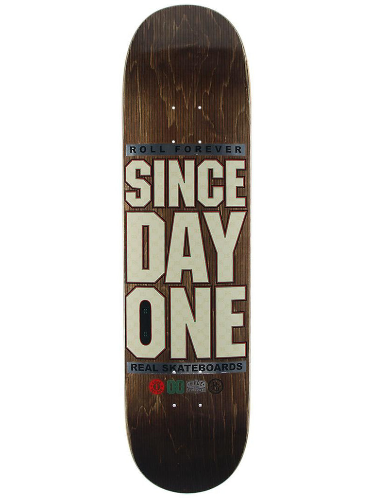 Real SDO High Class - Brown - 8.02 - Skateboard Deck