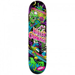 Real Busenitz Psycho Awesome 2 - Multi - 8.06 - Skateboard Deck