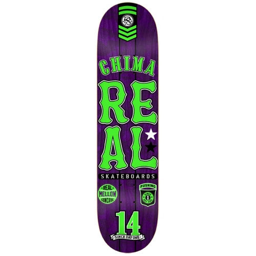 Real Ferguson Urban Ops Mellow - Purple/Green - 8.18 - Skateboard Deck