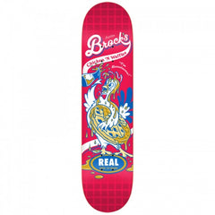 Real Brock Chicken N' Waffles - Red - 8.06 - Skateboard Deck