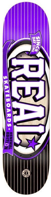 Real Renewal Knockout XXL PP - Purple - 8.62 - Skateboard Deck