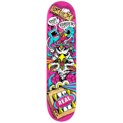 Real Brock Greg Mike 2 - Pink - 8.38 - Skateboard Deck
