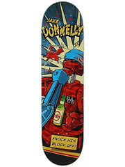 Real Donnelly Rock 'Em Sock 'Em - Blue/Red - 8.3 - Skateboard Deck