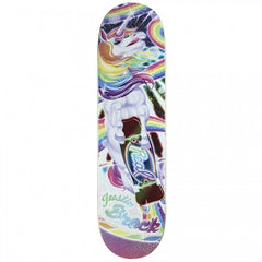 Real Brock Sparkle Motion - Rainbow - 8.29 - Skateboard Deck