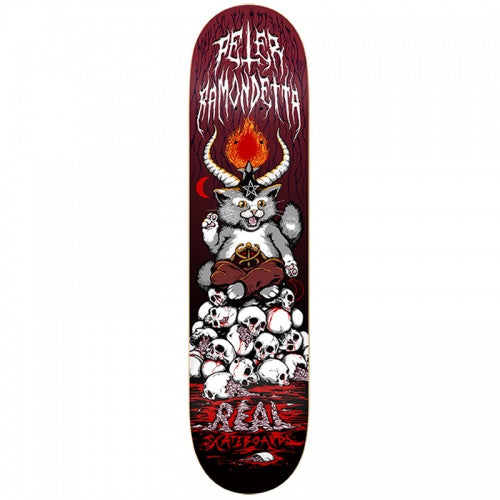 Real Ramondetta Kitten XXL - Red - 8.62 - Skateboard Deck