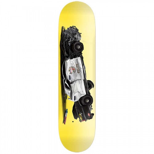 Real Ferguson Crash Up - Yellow - 8.5 x 32.18 - Skateboard Deck