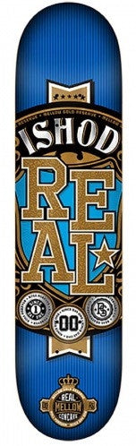Real Wair Mellow Gold - Blue/Gold - 8.38 x 32.56 - Skateboard Deck