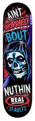 Real Aultz Crypto Mashup - Black/Red/Blue - 8.06 x 32 - Skateboard Deck