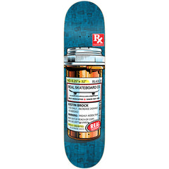 Real Brock Prescription Strength - Assorted - 8.25 x 32.0 - Skateboard Deck