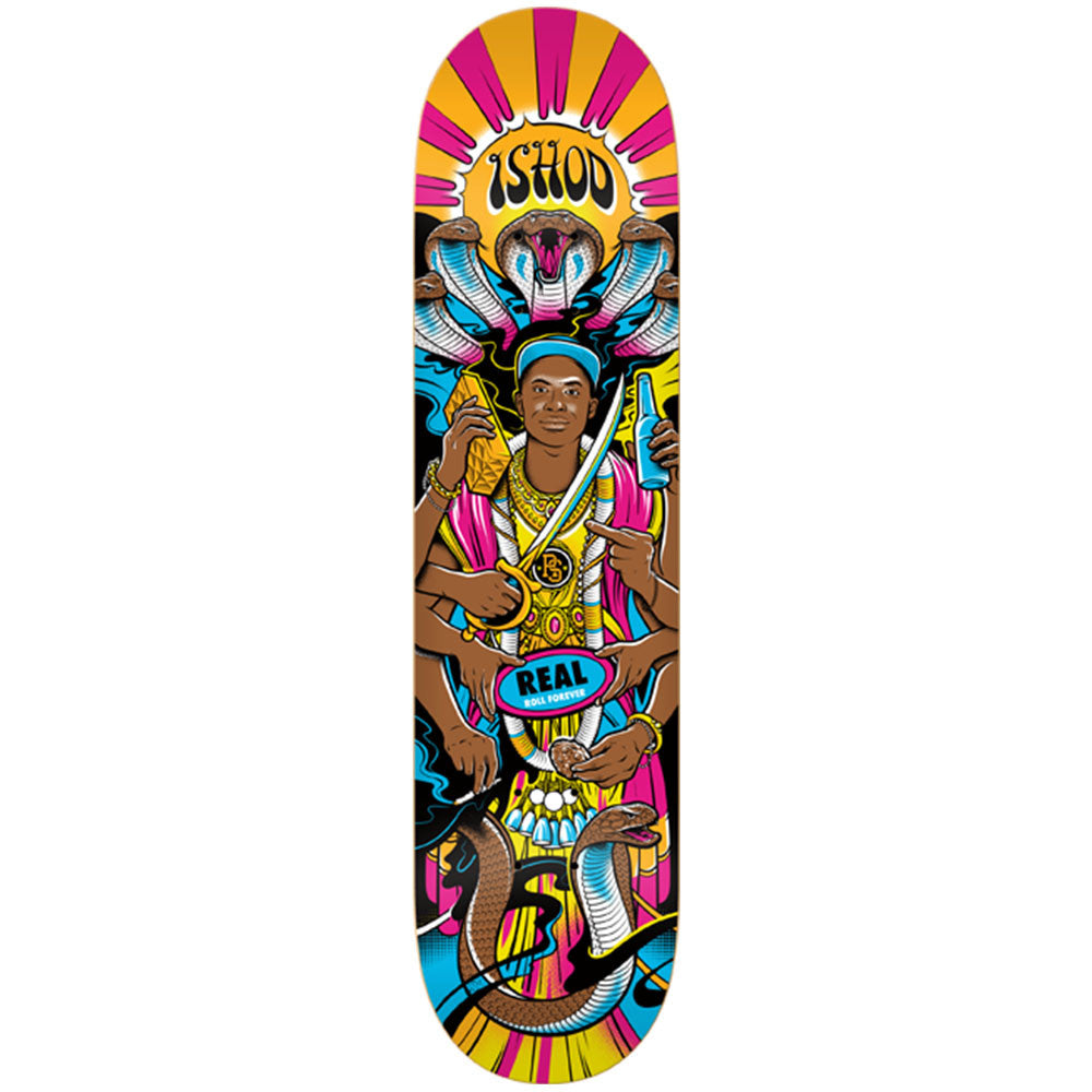 Real Wair the Ishod Experience MD - Multi - 8.25 x 32.0 - Skateboard Deck